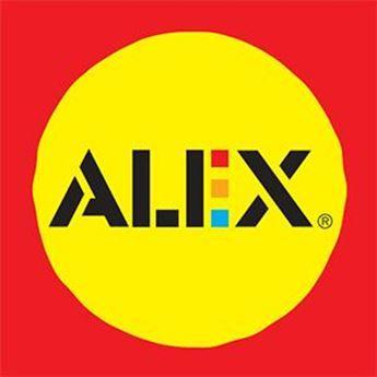 Logo de la marca Alex Toys