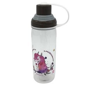Imagen de Botella de plástico, pico con tapa, con asa, con diseño infantil, 2 diseños