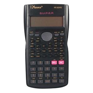 Imagen de Calculadora científica KENKO, 10+2 dígitos, 240 funciones, doble display, con tapa, en caja