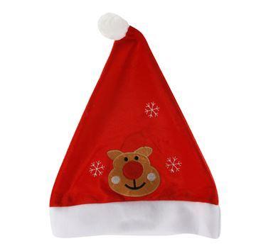 Imagen de Gorro navideño, polar fino, con diseño