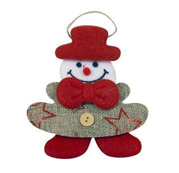 Imagen de Adorno navideño de tela, varios diseños, en bolssa