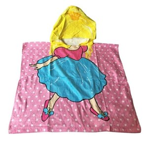 Imagen de Toalla infantil con capucha, en bolsa, varios diseños