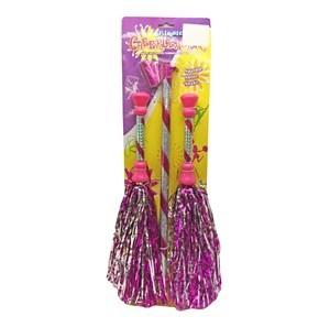 Imagen de Disfraz, porras x2 con cinta de baile, en cartón