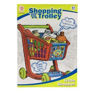 Imagen de Carrito de supermercado, con 16 accesorios, en caja