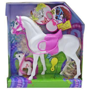 Imagen de Caballo x2 con accesorios, en caja