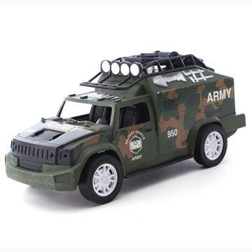 Imagen de Vehículo, camioneta militar, en caja
