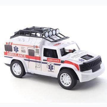 Imagen de Vehículo, ambulancia, en caja