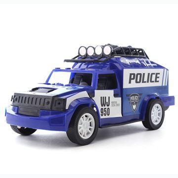 Imagen de Vehículo, camioneta de policía, en caja