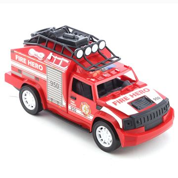 Imagen de Vehículo, camioneta de bomberos, en caja