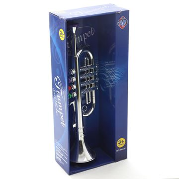 Imagen de Instrumentos musicales, trompeta, en caja