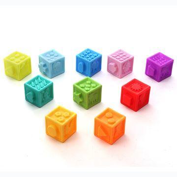 Imagen de Blocks x10, de goma con chifle, en caja