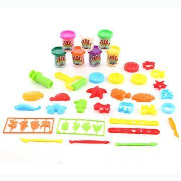 Imagen de Masa para modelar, x7, con moldes y accesorios, en caja
