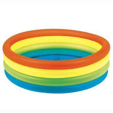 Imagen de Piscina inflable 4 aros, 700 litros, en caja, Jilong