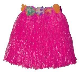 Imagen de Disfraz pollera hawaiana, cintura con flores, varios colores