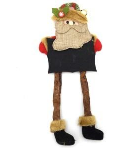 Imagen de Adorno navideño muñeco con pizarrón y cascabel, varios diseños