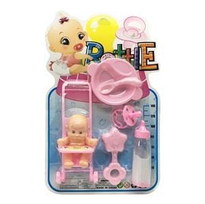 Imagen de Bebote con mamadera mágica y accesorios, en blister