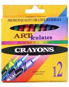 Imagen de Crayolas finas 12 colores, en caja