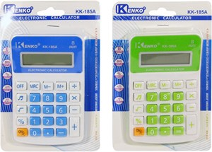 Imagen de Calculadora de mesa KENKO, 8 dígitos, en blister,  varios colores