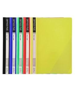 Imagen de Carpeta A4 tapa transparente, pack x12, varios colores