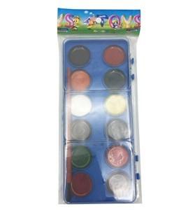 Imagen de Acuarelas 12 colores con pincel, en bolsa