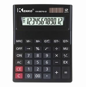 Imagen de Calculadora de mesa KENKO, 12 dígitos, display grande , solar, 1AA, en caja