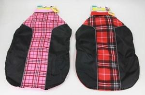 Imagen de Capa de abrigo para mascotas grandes, impermeable  forrada en polar, varios colores