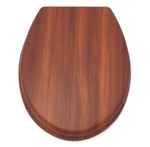 Imagen de Tapa para WC de MDF, con diseño madera, 3 tonos