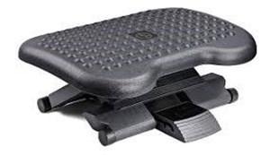 Imagen de Apoya pies ergonómico, altura regulable en 3 posiciones, inclinación entre 0 y 30°, en caja