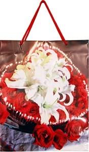 Imagen de Bolsa de regalo mediana en papel satinado, PACK x12