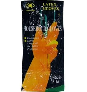 Imagen de Guantes de goma, en bolsa, varios talles
