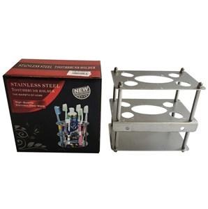 Imagen de Porta cepillo de dientes de metal, en caja