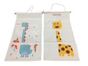 Imagen de Organizador de tela para colgar, 4 diseños infantiles