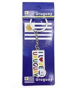 Imagen de Llavero diseño URUGUAY, pack x12