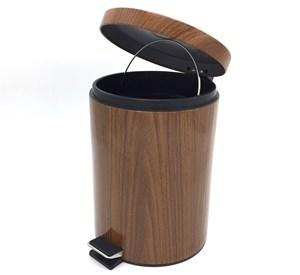 Imagen de Papelera de metal con pedal, en caja