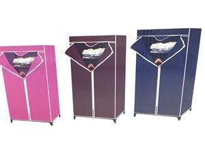 Imagen de Organizador para ropa, de TNT con cierre, 1 estante y barrote, en caja, varios colores