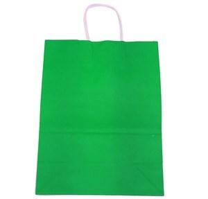 Imagen de Bolsa de regalo de papel con asa, grande, pack x12, varios colores