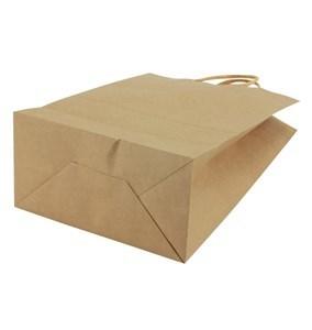 Imagen de Bolsa de papel con asa, mediana, pack x12