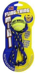 Imagen de Juguete pelota con cuerda en cartón