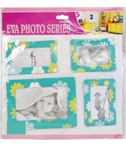 Imagen de Portarretratos goma EVA imantados, en blister