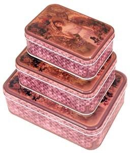 Imagen de Lata rectangular x3, varios diseños