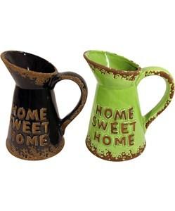 Imagen de Jarra de cerámica, con diseño