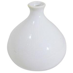 Imagen de Florero de cerámica liso, caja x2, varios diseños y colores