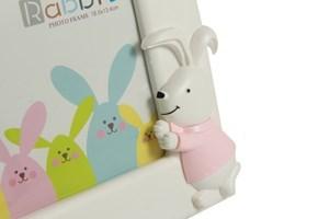 Imagen de Portarretrato infantil de plástico, en caja