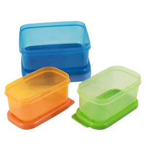 Imagen de Tupper RUBBERMAID x3, con barra de gel refrigerante