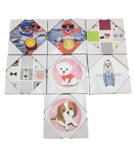 Imagen de Cuadro de PVC, cuadrado, con diseño infantil, varios diseños