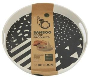 Imagen de Bandeja de fibra de bambú, varios diseños