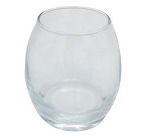 Imagen de Candelabro de vidrio transparente, pack x6