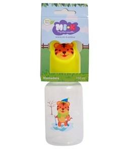 Imagen de Mamadera de plástico, tapa con diseño, en cartón, MI-K.