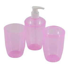 Imagen de Dispensador de jabón de plástico, con accesorios, en bolsa