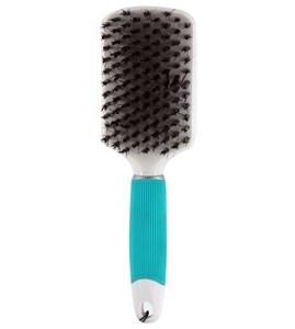 Imagen de Cepillo CONNAIR, 2en1, cerdas de plástico y jabalí, desenreda y alisa